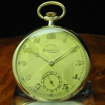 Levrette Chronometre 14kt 585 Gold Open Face Taschenuhr /...