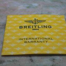 Breitling vintage warranty booklet blank stamp dealer newoldstock