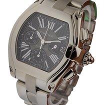 Cartier W62020X6 Roadster Chronograph in Steel - on Bracelet...