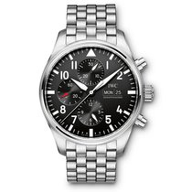 IWC Pilots Automatic Chronograph Day Date Mens watch IW377710
