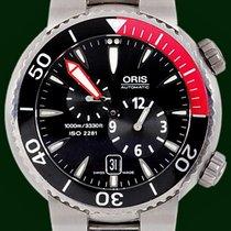 Oris TT1 Divers 44mm Titanium Automatic Box&Papers