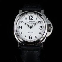Panerai LUMINOR BASE 8 DAYS ACCIAIO 44MM PAM 561 WH DIAL