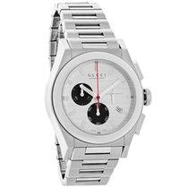 Gucci 115 Pantheon Mens Swiss Chronograph Quartz Watch YA115236