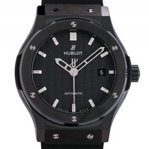 Hublot Classic Fusion Black Magic Keramik Kautschuk Automatik...