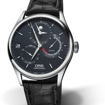 Oris CULTURA ARTELIER CALIBRE 112 Steel-Blue Dial-Black Leather