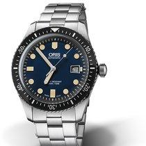 Oris DIVING DIVERS SIXTY-FIVE Blue Dial-Steel Bracelet 42mm