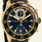 IWC Aquatimer Chrono Rose Gold