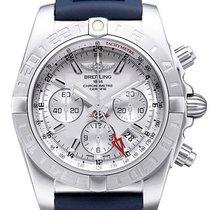 Breitling Chronomat 44 GMT Sierra-Silbern AB042011.G745.143S.A...
