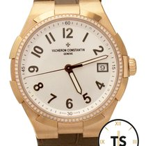 Vacheron Constantin Overseas 18K Rose Gold 36mm Diamond 47560...