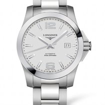 Longines Conquest Automatic Silver Dial 39mm R