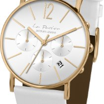 Jacques Lemans La Passion LP-123G Damenarmbanduhr flach &...