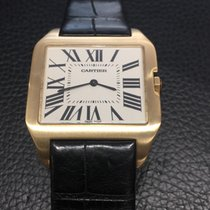 Cartier Santos Dumont  18k yellow Gold