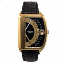 Wittnauer Double Retrograde Sector Futurama 1000 Vintage Jump...