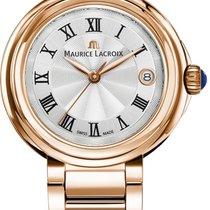 Maurice Lacroix Fiaba Round FA1007-PVP06-110-1 Damenarmbanduhr...