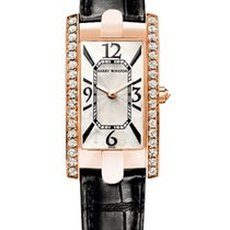 Harry Winston Avenue C 18K Rose Gold & Diamonds Ladies Watch