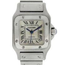 Cartier Santos W20054D6 Stainless Steel Ladies Watch