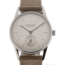 Nomos Orion 33 Manual Winding Silver Dial