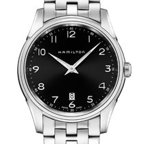 Hamilton Jazzmaster Thinline Quarz Herrenuhr H38511133