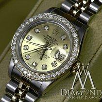 ロレックス (Rolex) Two Tone - Ladies Rolex Oyster Perpetual 69173...