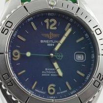 Breitling Shark Quartz Herren Uhr 43mm Stahl/stahl Rar...