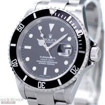 Rolex Submariner Date Ref-16610 Stainless Steel Box Papers...