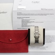 Cartier Tank Française 2300 18K Yellow Gold & Stainless Steel