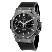 Hublot Classic Fusion Chronograph Black Magic Mat Carbon Fiber...