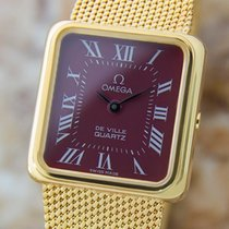 Omega Deville Accuset Ladies 1980 Luxury Swiss Made Gold...