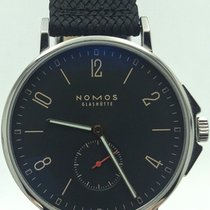 Nomos Glashütte Ahoi Atlantik 522 Black Dial On Woven Strap