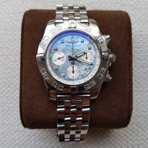 Breitling IIIChronomat 41 Amazing Mother Of Pearl Dimonts...