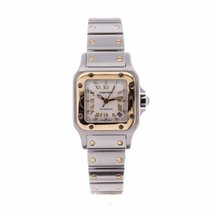 Cartier Santos Automatic Steel and Gold Ladies Watch 2423...