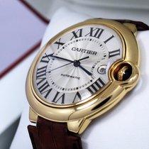 Cartier Ballon Bleu Large 42mm W6900551 18k Yellow Gold Watch...