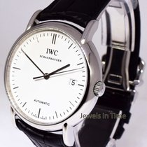 IWC Portofino 38mm Steel Automatic Watch Deployant Box/Papers...