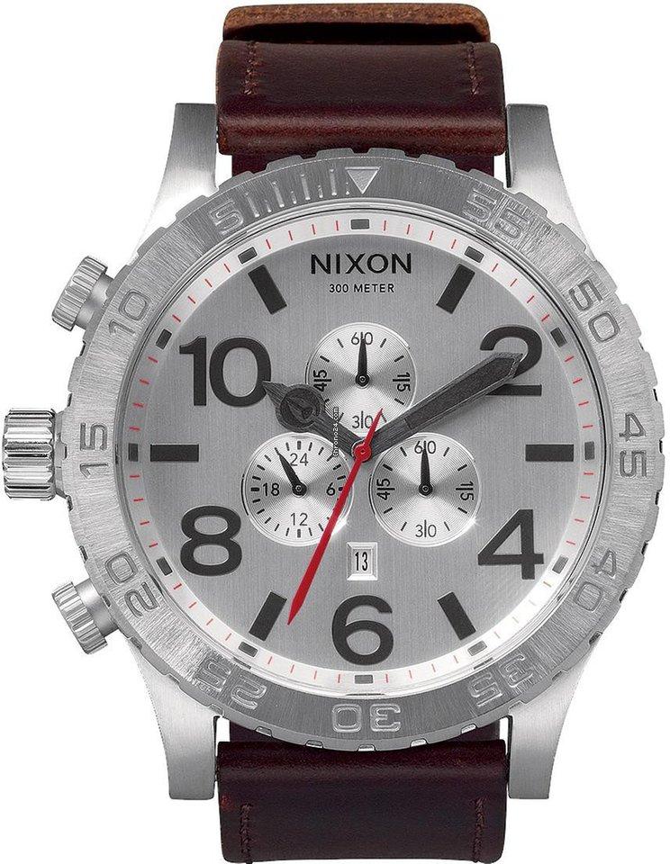 16e21a5e9b4 Nixon 51-30 Chrono Leather A124-1113 Herrenchronograph Design... por R   1.759 para vender por um Trusted Seller na Chrono24