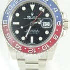 Rolex GMT MASTER II White Gold,Pepsi Blue Red Ceramic,unworn...