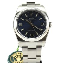 Rolex Oyster Perpetual steel automatic blue arab 3-6-9 116000