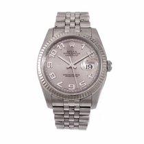 Ρολεξ (Rolex) DATEJUST S/W.G. Concentric Silver Dial B&P