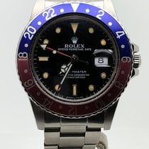 Rolex GMT MASTER PEPSI 16750 YEAR 1983 PLEXI LIKE NEW