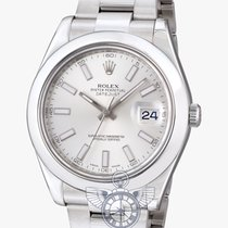Rolex Oyster Datejust II Silver Dial