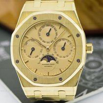 Audemars Piguet 25820 Royal Oak Perpetual Calendar 18K Yellow...