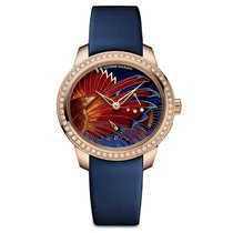 Ulysse Nardin Jade Lion Fish Diamonds Ladies watch