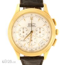 Zenith El Primero Chronometer 30.1250.400 Gold  40 mm Papers 1994