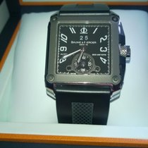 Baume & Mercier Hampton square XL dual Time
