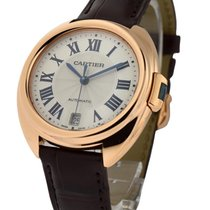 Cartier WGCL0013 Cle de Cartier Ladies 35mm Automatic in Rose...