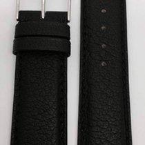 Kaufmann Büffel SCE Lederband schwarz 20/18mm 086 50