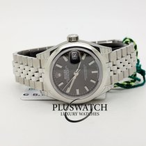 Rolex Oyster Perpetua Lady-Datejust Jubileè 28mm Dark Grey Dial