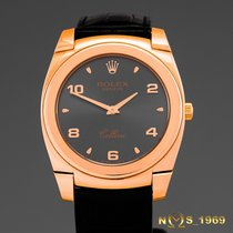 Rolex Cellini Cestello  Ref 5330/5   18K   Rose Gold Box &...
