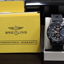 Breitling Professional Skyracer A27364 SS & Rubber Box...