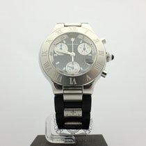 Cartier Must 21 Chronoscaph 38MM Ref.W10125U2