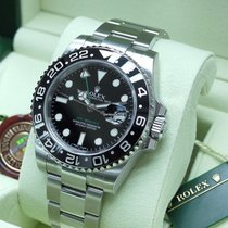 勞力士 (Rolex) GMT II 116710LN Green HAND & CERAMIC Black Dial